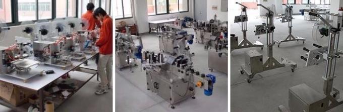 Mesin Pelabelan Pelekat Ampul Automatik / Mesin Pelabelan Untuk Botol Penisilin