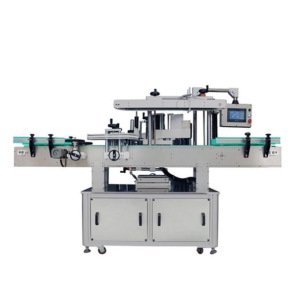 Mesin Pelabelan Produk Pencuci Automatik Untuk Syampu Botol Bulat Dan Rata