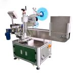 Mesin Pelabel Vial Automatik Label Melintang Aluminium Aloi