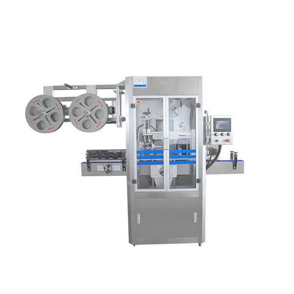 Cap Sealing Stainless Steel Shrink Sleeve Machine Applicator Dengan Steam Generator
