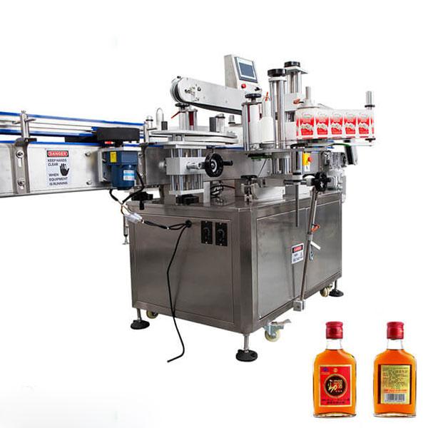 Mesin Pelabelan Untuk Cawan dan Botol Bulat Tongkat Automatik Penuh