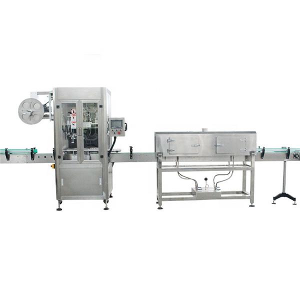 Mesin Pelabelan Lengan Pengecutan Berkelajuan Tinggi Cawan Plastik Dengan Steam Generator