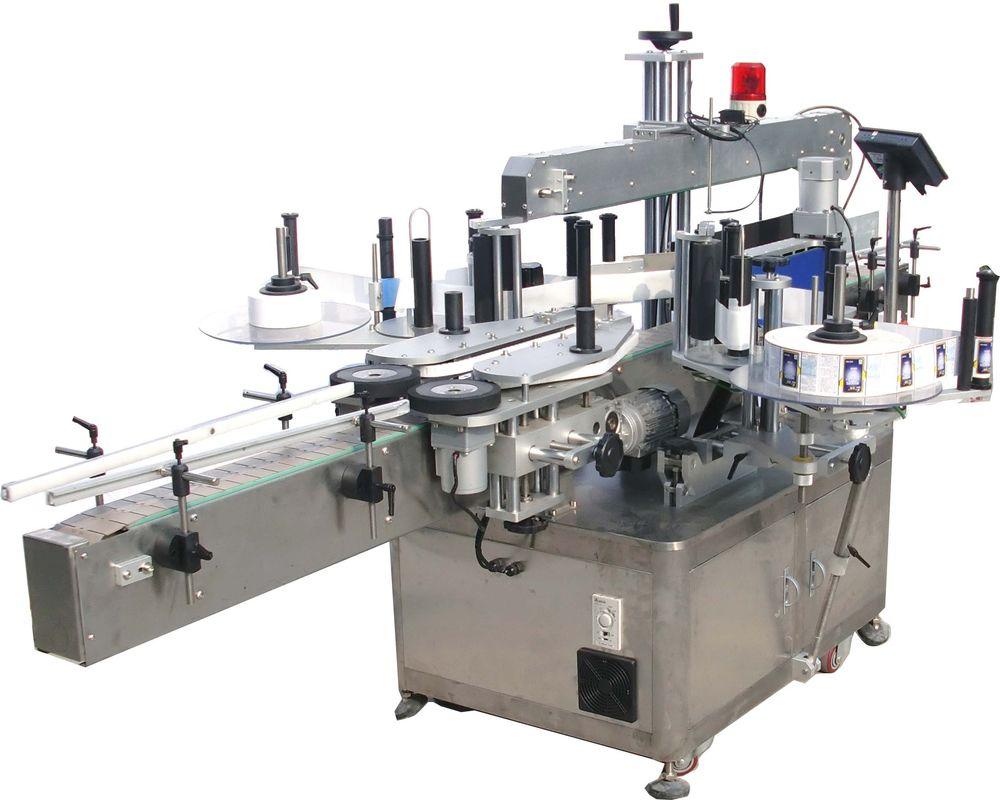 Mesin Pelabelan Pelekat Minyak Hidraulik Berkelajuan Tinggi Berkembar