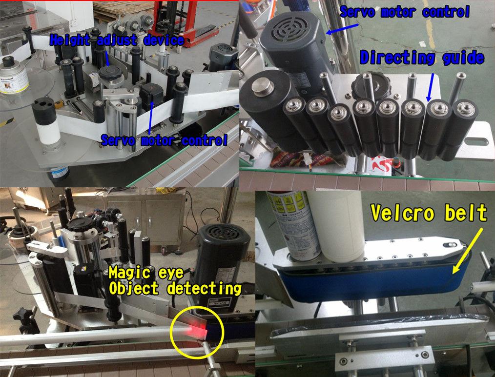 Mesin Pelabelan Botol Bulat Pelekat Botol Kosmetik / Mesin Pelekat Sendiri