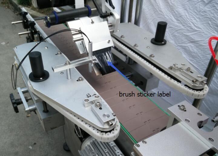 Mesin Pelabelan Pelekat Botol Bulat Automatik Untuk Motor Spoke Botol Bir