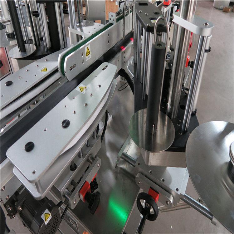 Mesin Pelabelan Pelekat Automatik CE, Mesin Pelabel Botol Depan Dan Belakang