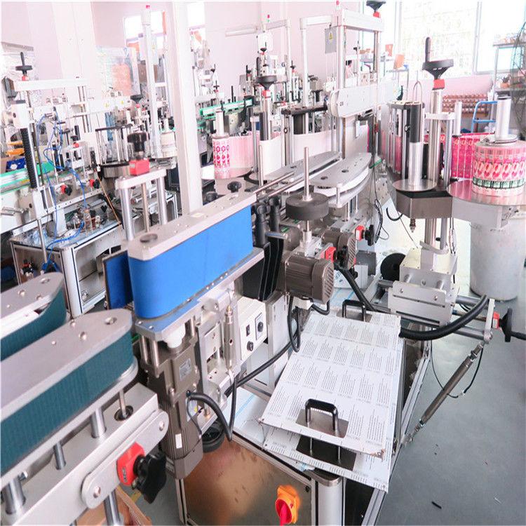 Mesin Pelabelan Bahagian Dua Botol Untuk Berbagai Botol Botol Datar Datar