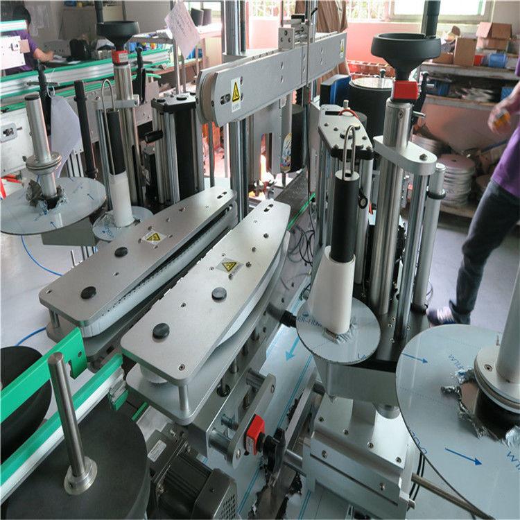 Mesin Pelabelan Depan dan Belakang Botol Air