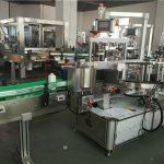 Mesin Pelabelan Botol Oval Bahagian Depan Belakang Mesin Label Aplikator Dua Label