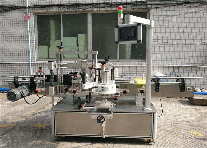 Mesin Pelabelan Pelekat Automatik CE / Mesin Pelabelan Sensitif Tekanan