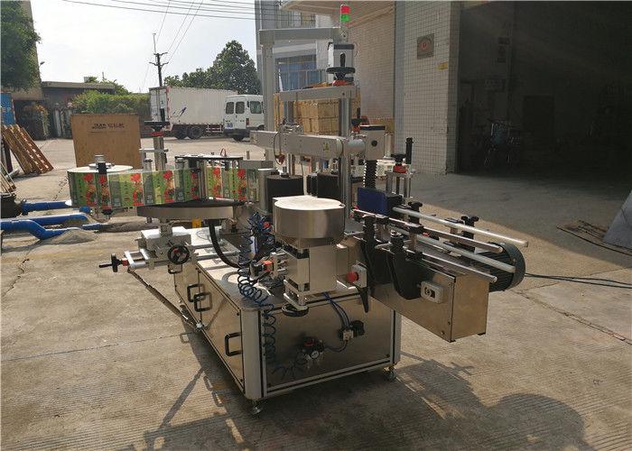 Mesin Pelabelan Botol Ce Flat Peralatan Pelabelan Depan Dan Belakang