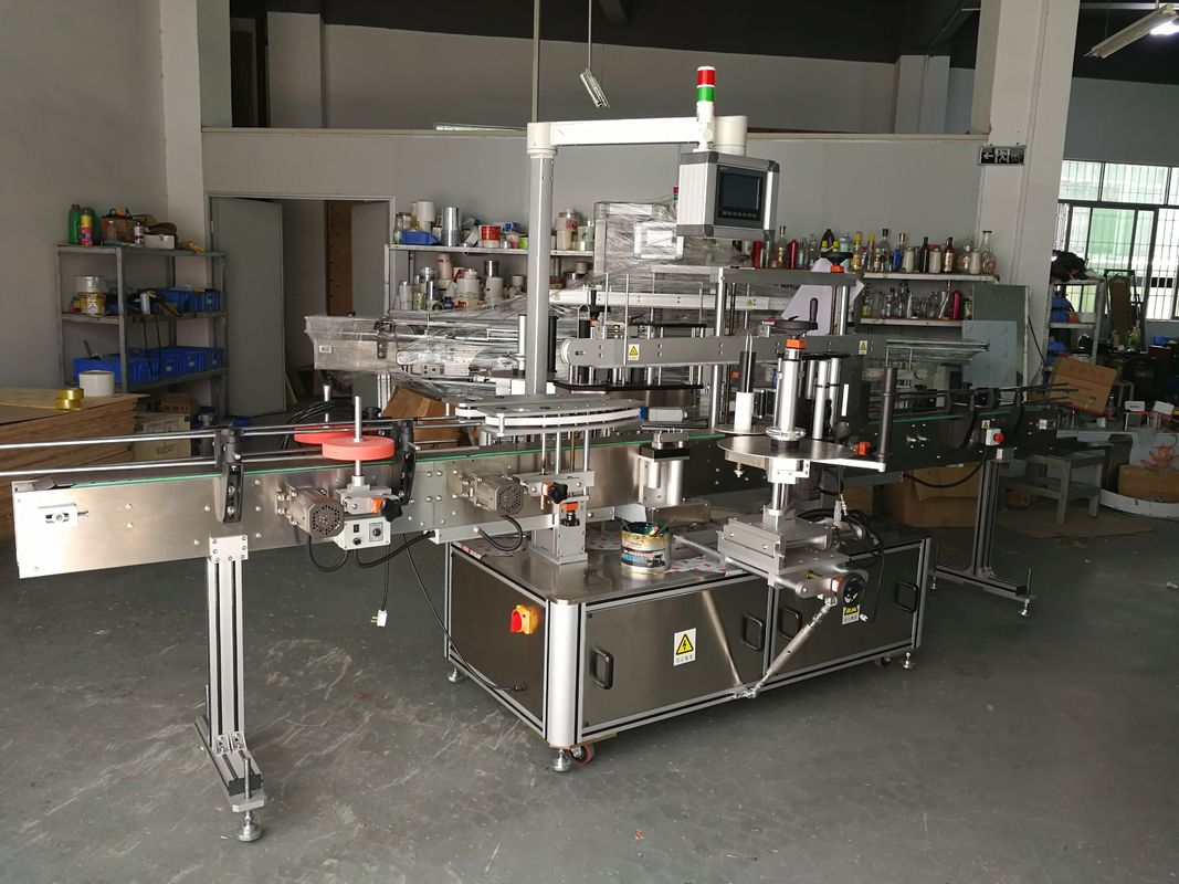 Mesin Pelabelan Botol Multifungsi Berketepatan Tinggi yang Didorong Elektrik