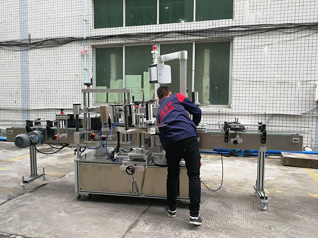 Mesin Pelabelan Botol Air Automatik Sepenuhnya Untuk Botol Kaca / PET