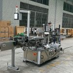 Mesin Pelabelan Depan Dan Belakang Pelekat Untuk Botol Kaca Bulat