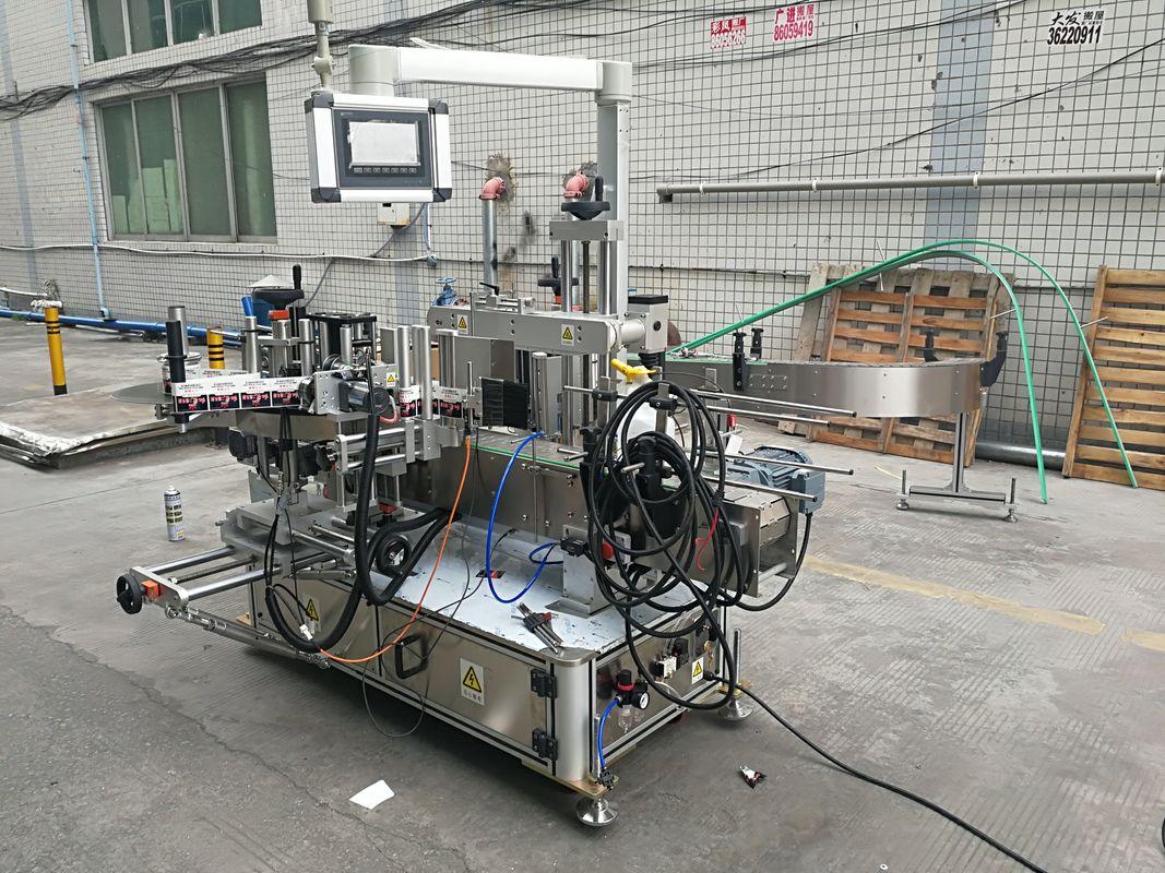 Mesin Pelabelan Botol Sisi Berkembar Automatik Penuh Dengan Coder