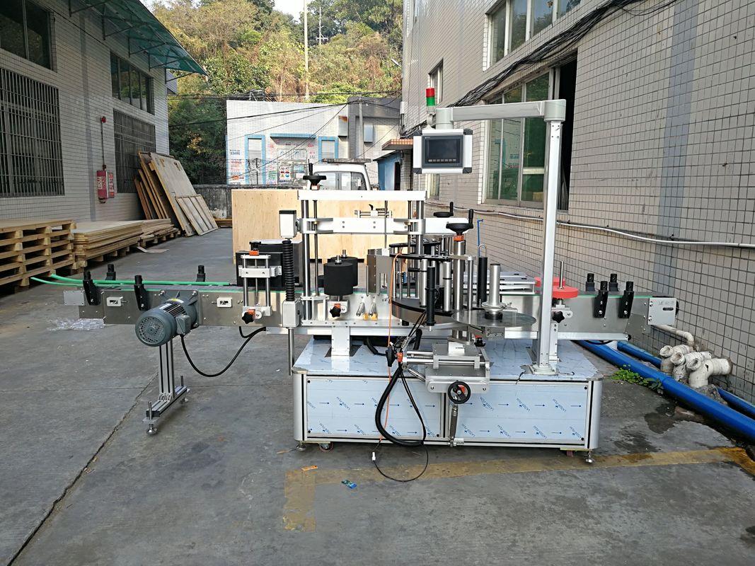 Mesin Pelabelan Botol Pelekat Automatik Bersepadu Depan Dan Belakang