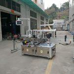Mesin Pelabelan Botol Segi Tiga Tiga Sisi Mesin Bergerak Elektrik Jenis