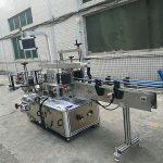 Mesin Pelabelan Botol Sisi Pelekat Sendiri Mesin automatik penuh