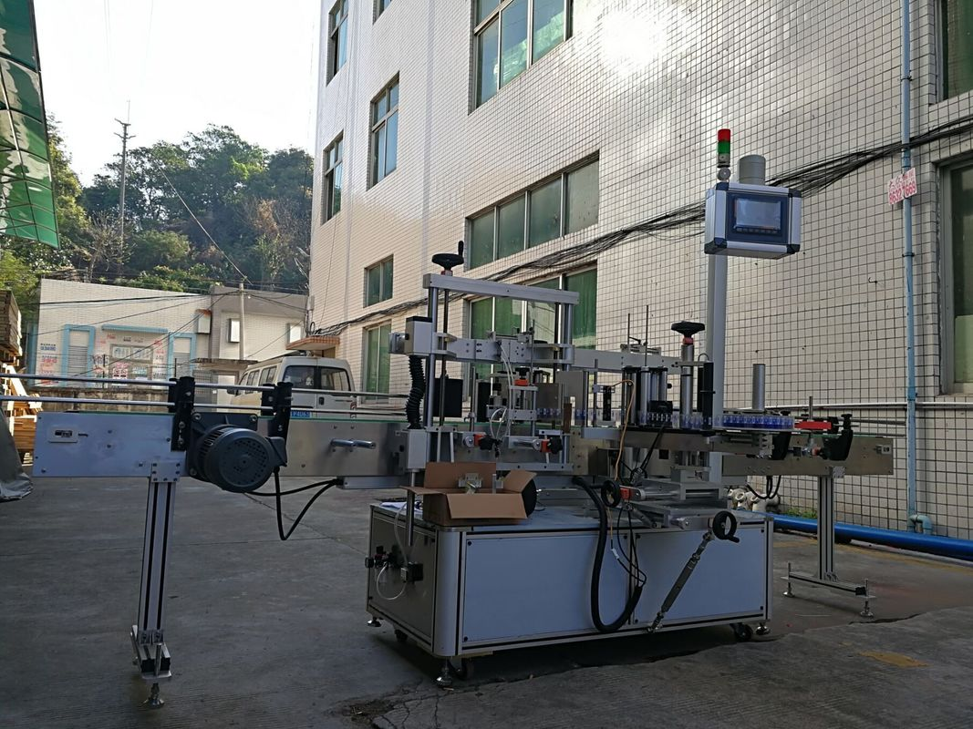 Mesin Pelabelan Botol Rata Sisi Pelekat Ketepatan Tinggi